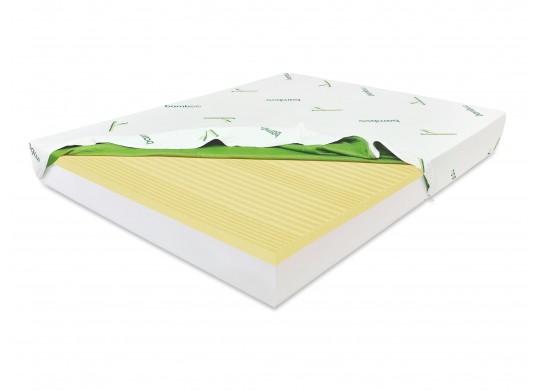 Saltea memory 7 cm, 15+7+1, Bio Bamboo, 80x200, Dolce Dormire Diamante 7K clasa A