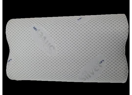 Perna Memory Cervicala cu Ioni de Argint, DolceNotte, 72 x 42 x 12 cm, cu Husa Detasabila