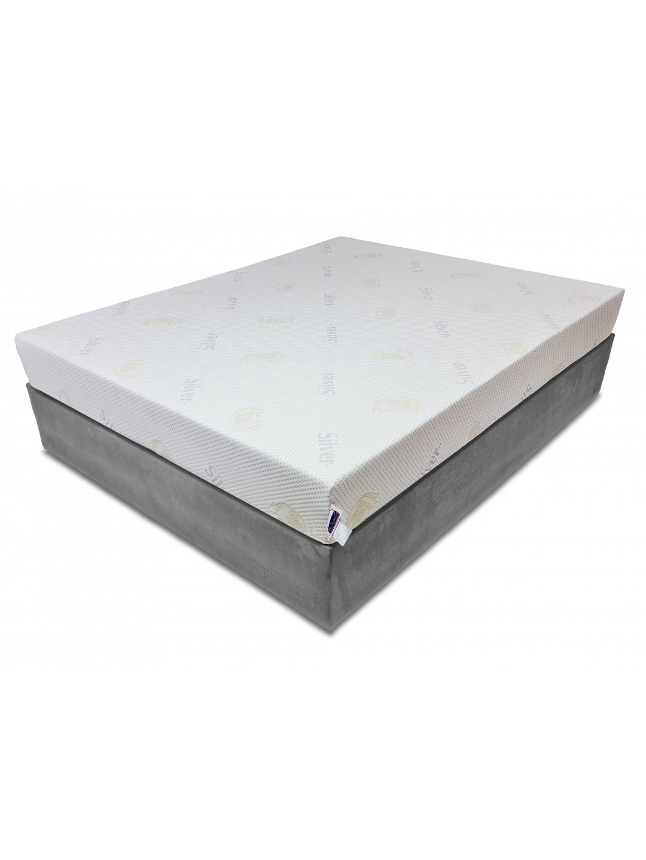 Saltea memory 7 cm, 15+7, Ioni de Argint, 140x190, Dolce Dormire Diamante 7K clasa A