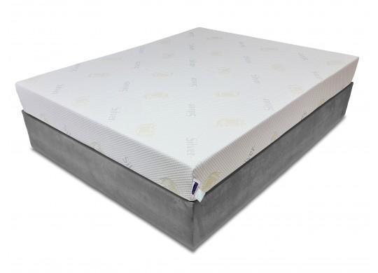 Saltea memory 7 cm, 15+7 Ioni de Argint, 100x190, Dolce Dormire Diamante 7K clasa A