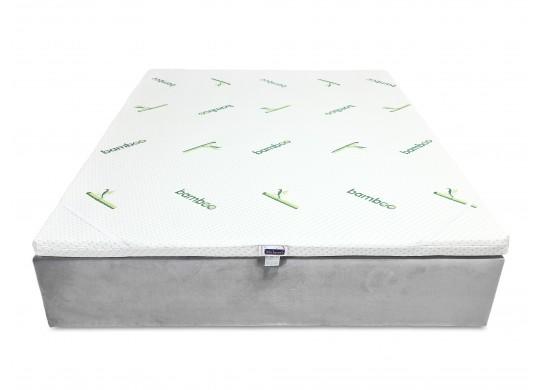 Topper 5 cm, 100x200, Husa Bio Bamboo Detasabila, Amo Dormire