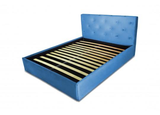 Pat Tapitat pentru Dormitor cu Lada, 100x190, Romance Dolce Dormire, Piele Ecologica, Textil, MicroFibre